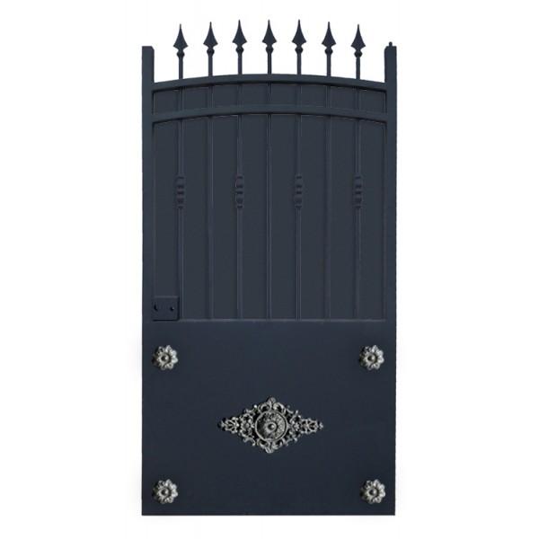 portillon cloture en fer prix usine portillon en fer coulissant et portillon fer battant 2tr. Black Bedroom Furniture Sets. Home Design Ideas
