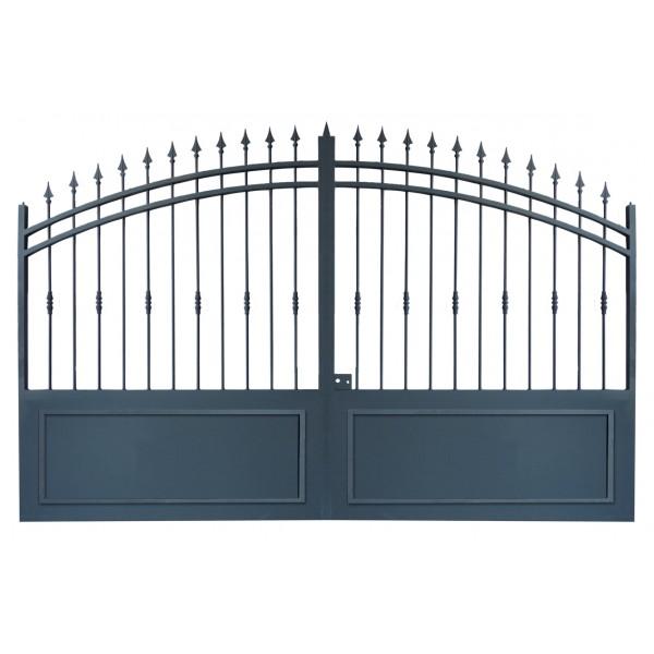 Portail modele 2 c direct portails for Modele portail metallique