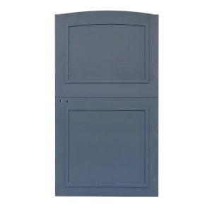 Portillon fer contemporain 2 c direct portails for Portillon fer vert