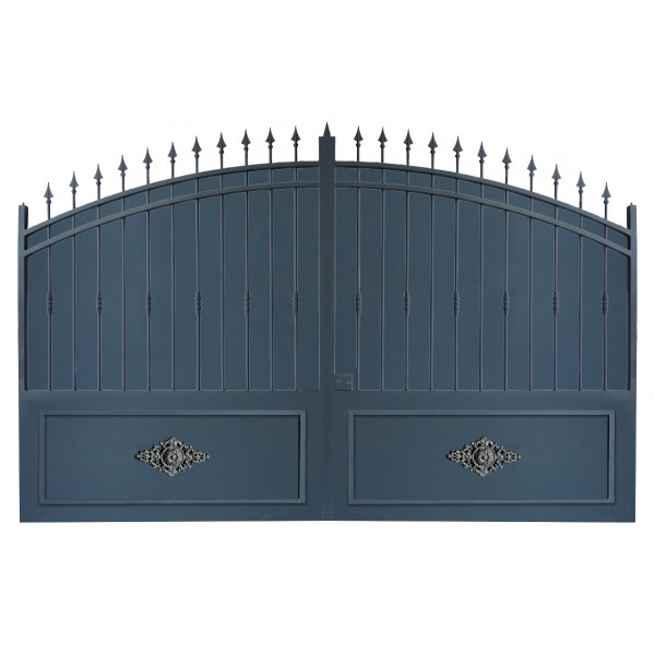 Portail en fer pas cher prix usine portail en fer coulissant portail en f - Portail de cloture pas cher ...