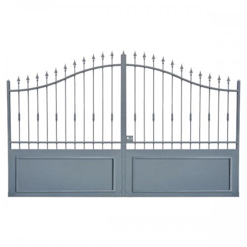 Portail Aluminium, portail maison en aluminium, cloture maison Modèle A1C
