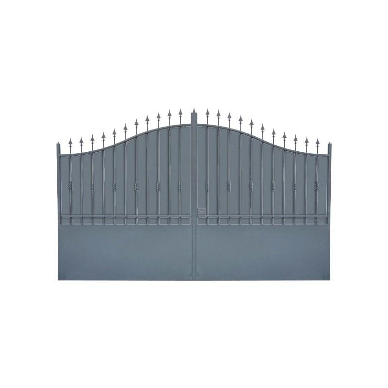 Portail Aluminium Modèle A1T, ce portail aluminium clôture votre habitation efficacement