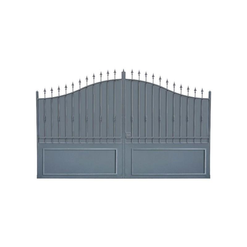 Portail Aluminium Modèle A1TC, portail aluminium qui clôture votre maison efficacement