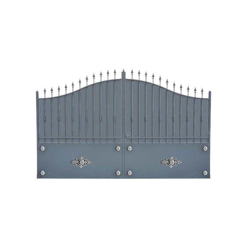 Portail Aluminium Modèle A1TR, le portail aluminium très résistant, clôture votre habitation