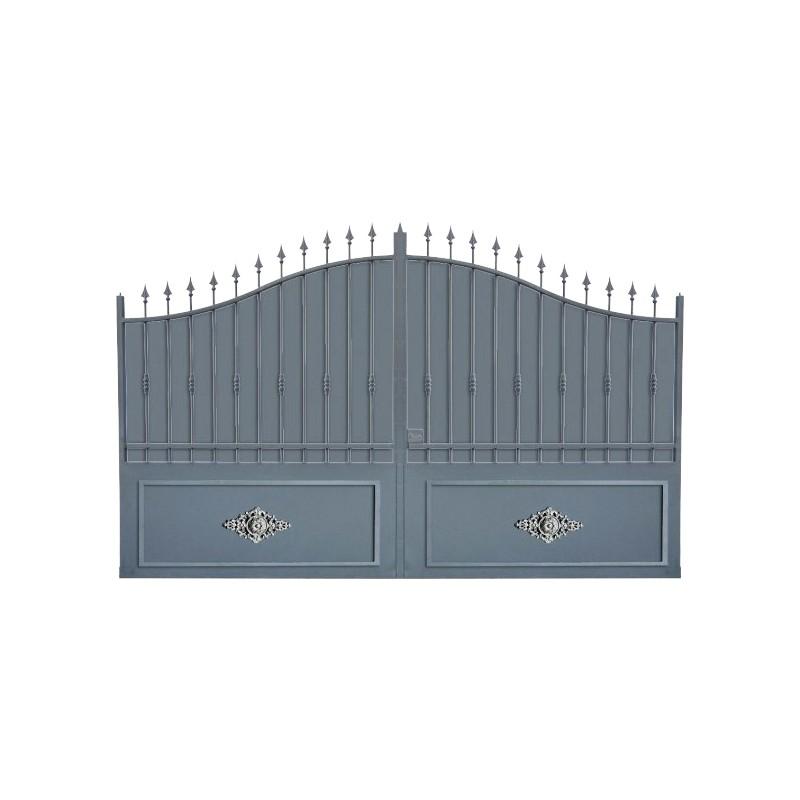 Portail Aluminium Modèle A1TRC, clôture de votre habitaiton avec ce portail aluminium très résistant
