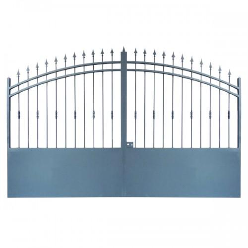Portail Aluminium, portail maison aluminium, cloture Modèle A2