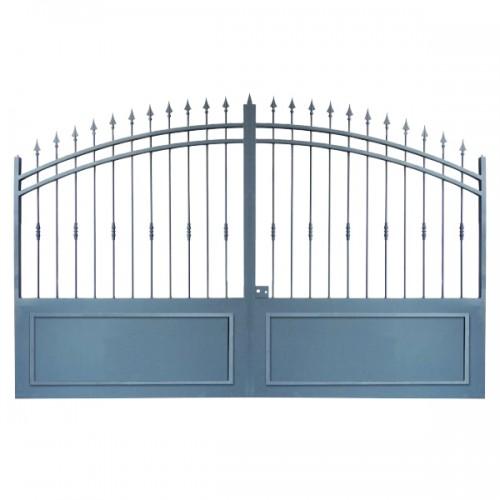Portail Aluminium, ce portail aluminium cloture votre maison et jardin Modèle A2C