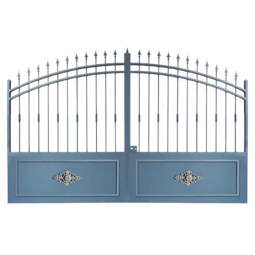 Portail Aluminium Modèle A2RC, ce portail clôture efficacement voter jardin et clôture cotre maison