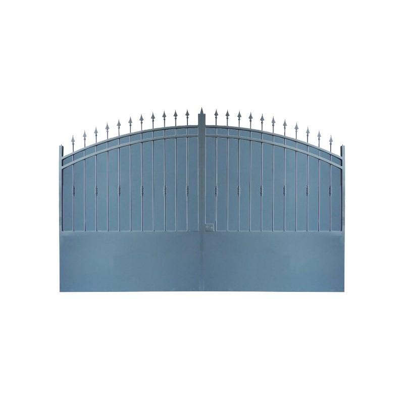 Portail Aluminium Modèle A2T, ce portail aluminium clôture votre habitation avec élégance