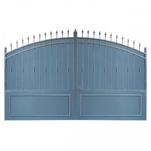 Portail Aluminium Modèle A2TC, ce portail clôture votre jardin et votre maison