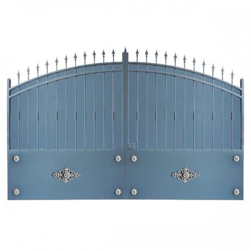 Portail Aluminium Modèle A2TR, clôture votre maison et votre jardin