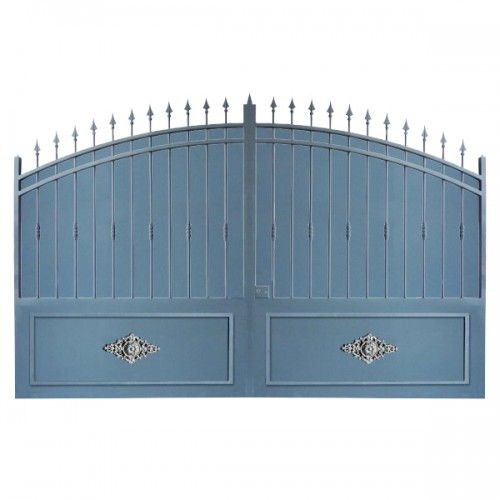 Portail Aluminium Modèle A2TRC, clôture de votre habitation en portail aluminium