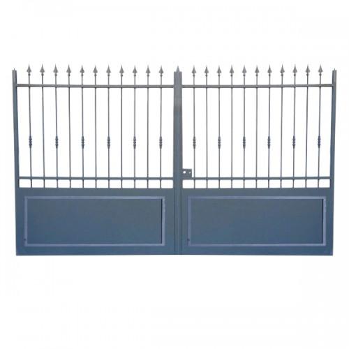 Portail Aluminium, portail aluminium pour la maison, cloture maison Modèle A3C