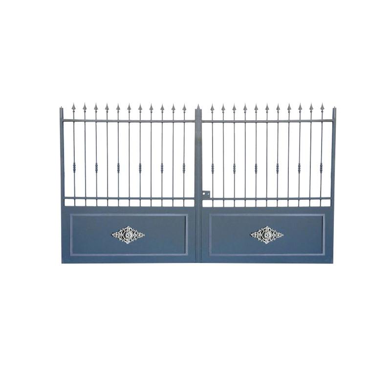 Portail Aluminium Modèle A3RC, portail aluminium pour cloturer votre maison