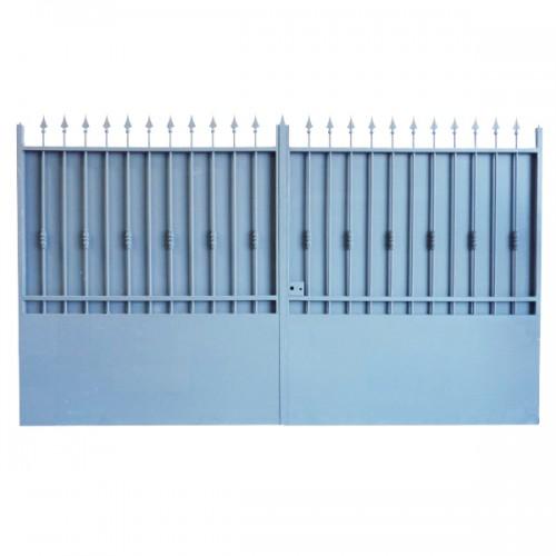 Portail Aluminium Modèle A3T, ce portail aluminium clôture votre jardin et votre maison