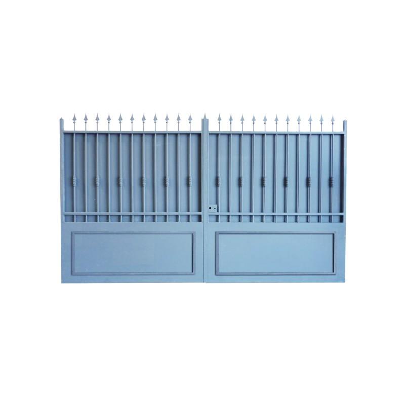 Portail Aluminium Modèle A3TC, clôture votre maison et clôture votre jardin