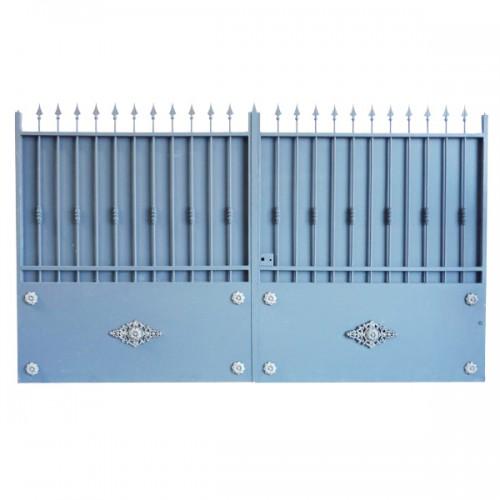 Portail Aluminium Modèle A3TR, portail aluminium très résistant clôture votre entrée.