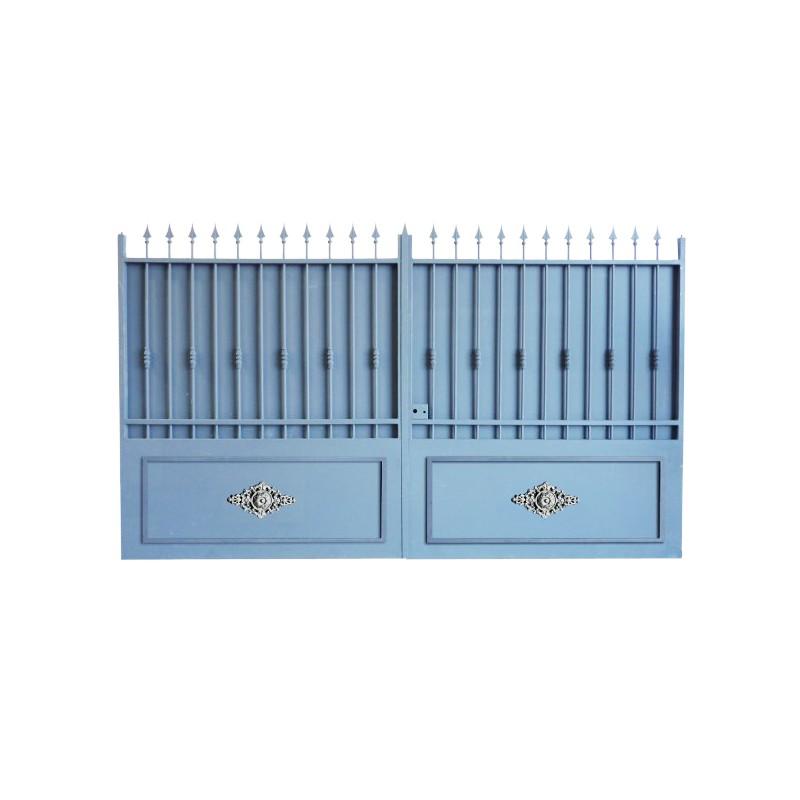 Portail Aluminium Modèle A3TRC, portail en aluminium très résistant pour clôturer votre habitation