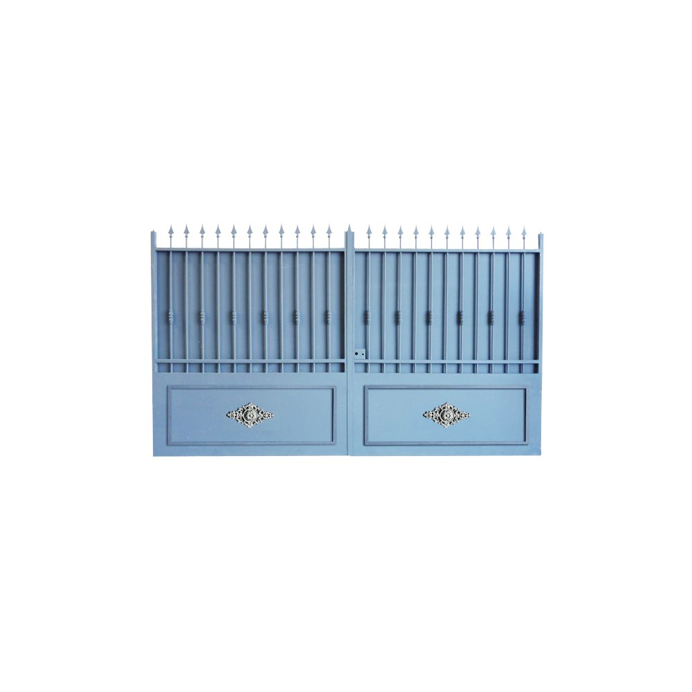 Portail cloture alu et portail aluminium avec portail coulissant et portail battant portail en Portail aluminium battant