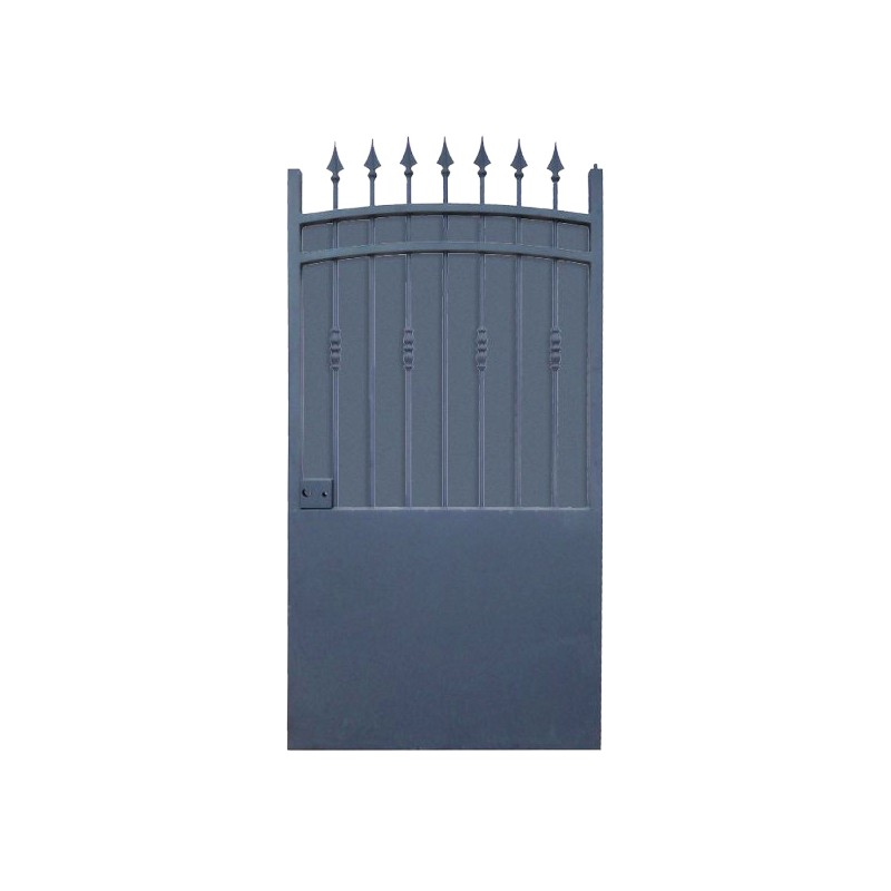 Portillon aluminium type fer forg for Portillon aluminium