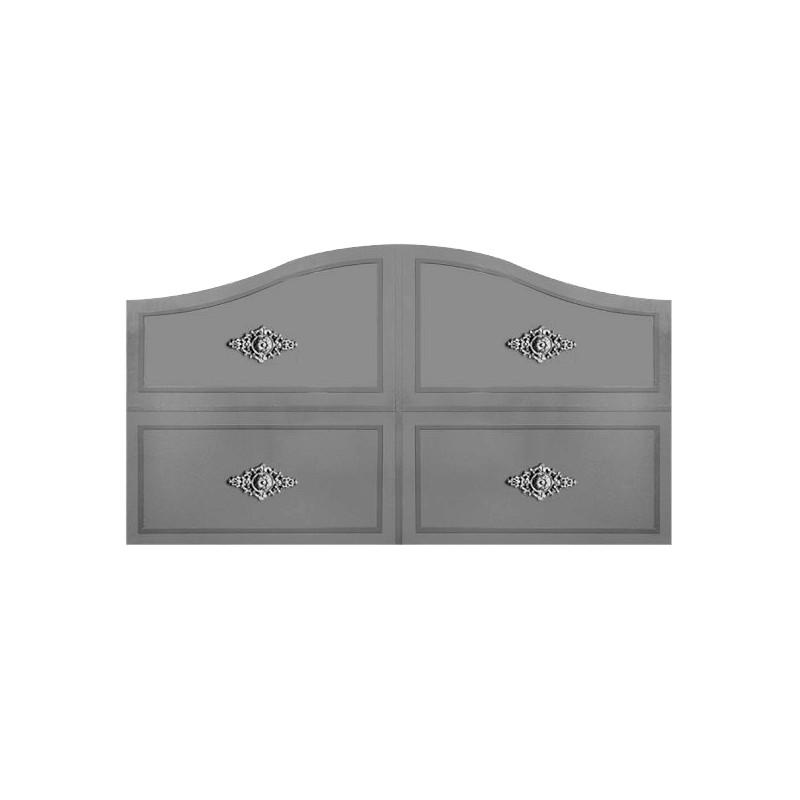 Portail Aluminium Modèle 1/4RAC