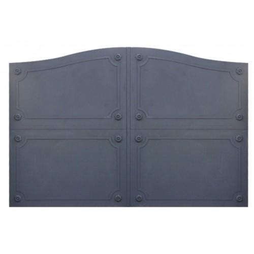 Portail cloture fer, portail fer contemporain et portail fer coulissant et portail fer battant 4R, portail fer pour sécuriser vo