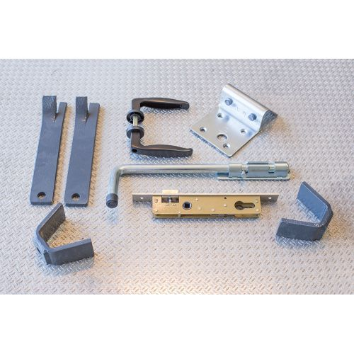 Portillon Aluminium Modèle A1C