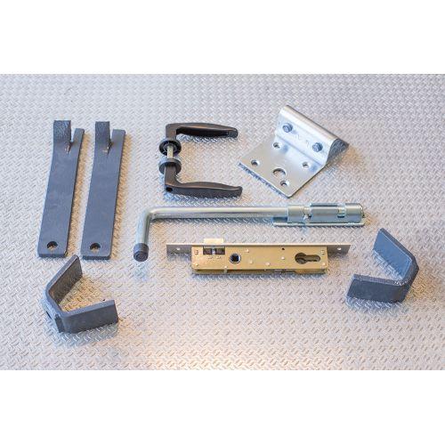 Portillon Aluminium Modèle A1TC
