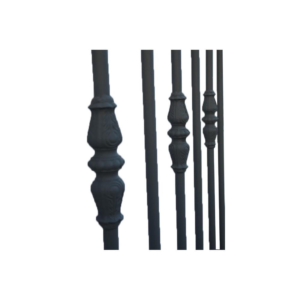 Portails fer forg avec portails coulissant et portails battant portails en fer sur mesure - Portail battant 1 porte ...