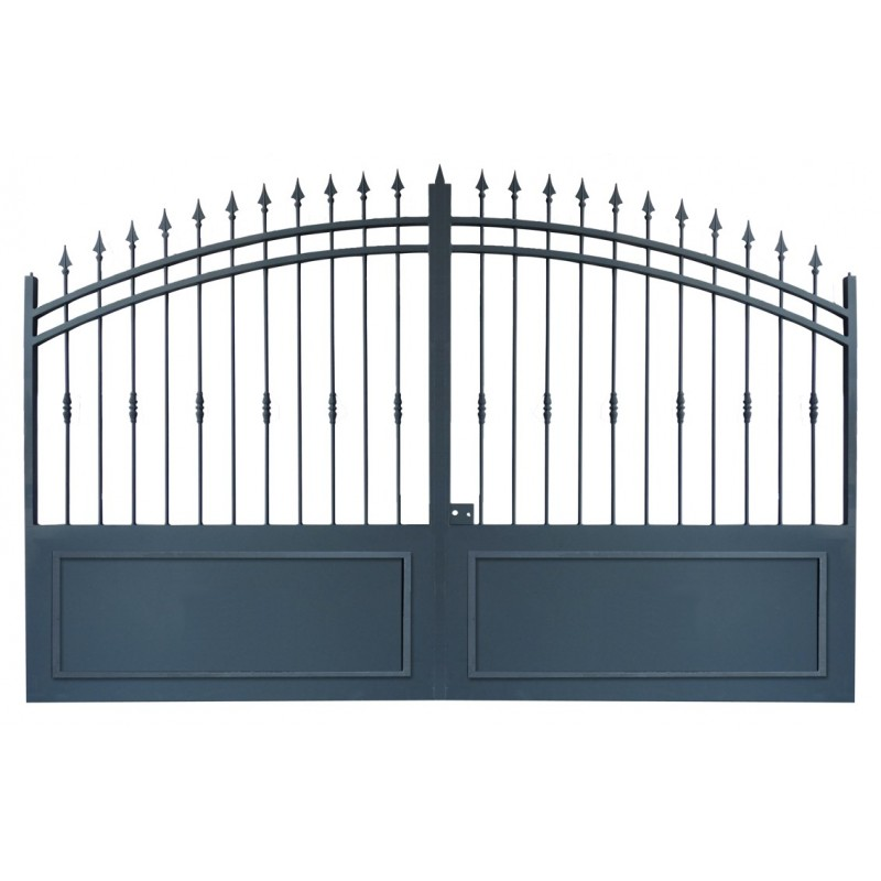 Portails fer forg pas cher avec portails coulissant et portails battant por - Leroy merlin fer forge ...
