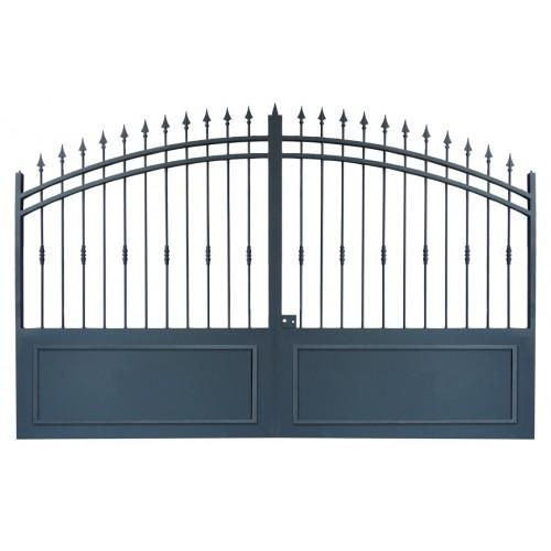 Portail cloture en fer, portail en fer coulissant et portail en fer battant 2C