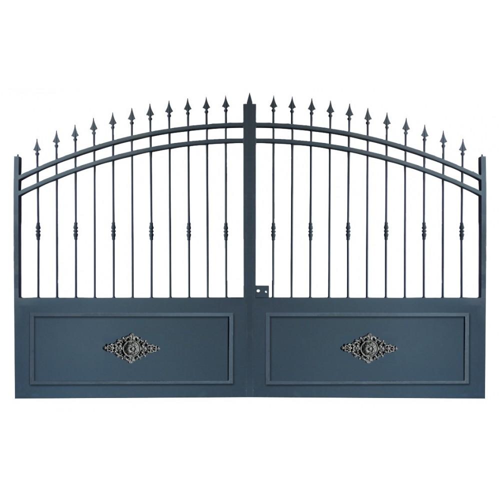 Portail Cloture Sur Mesure Et Portail Fer Avec Portail Coulissant Et Portail Battant Portail En Fer