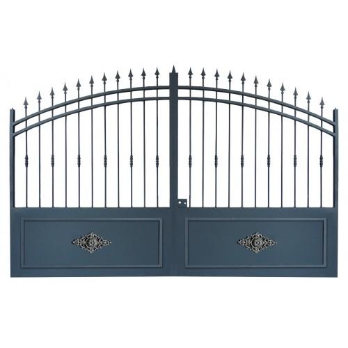 Portail en fer, portail battant, portail coulissant, portail métallique, portails en métal