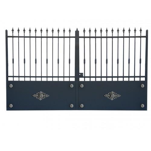 Portail cloture en fer, portail en fer coulissant et portail en fer battant 3R