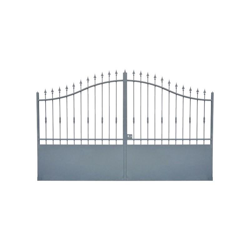 Portail Aluminium, portail maison et cloture modele A1