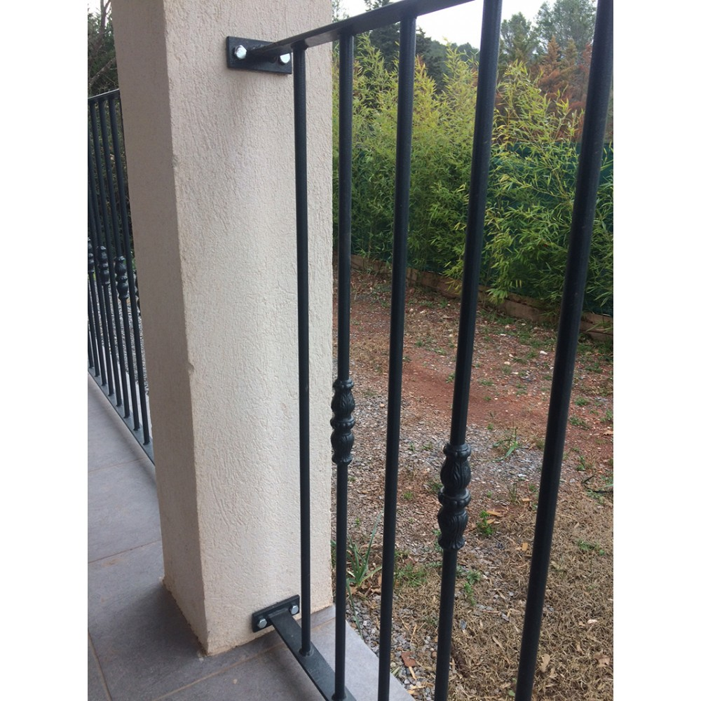 Garde corps terrasse direct portails - Cloture en fer ...