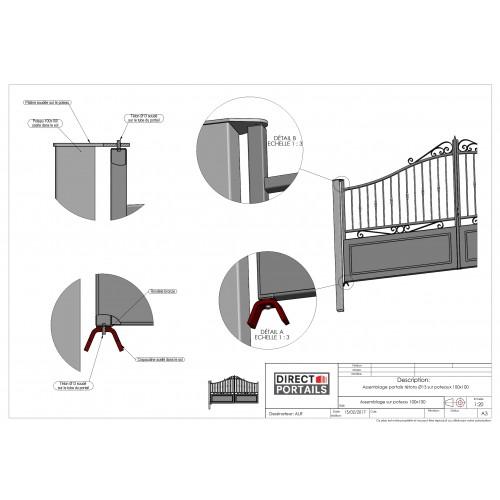 Poteaux pour portails