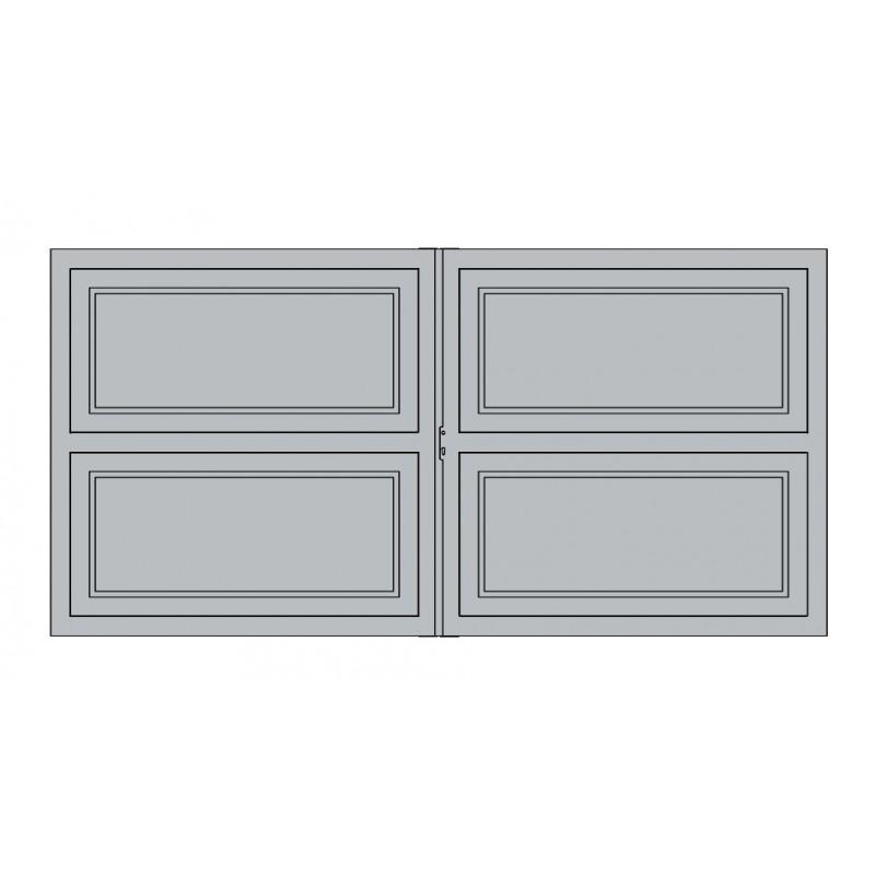 Portail Aluminium Battant et Coulissant Dubai1