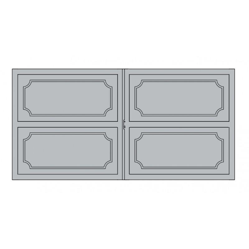 Portail Aluminium Battant et Coulissant Dubai2
