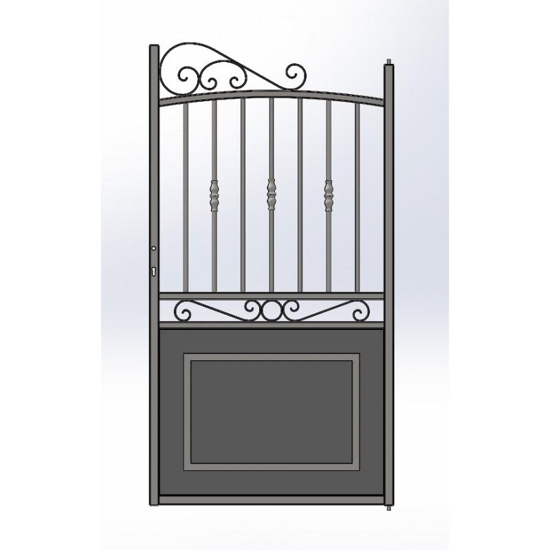 portillon en fer forg ferronerie prix usine portillon en fer coulissant et portillon fer. Black Bedroom Furniture Sets. Home Design Ideas