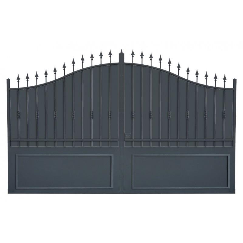 Portail cloture fer, portail fer et portail fer coulissant et portail fer battant1R