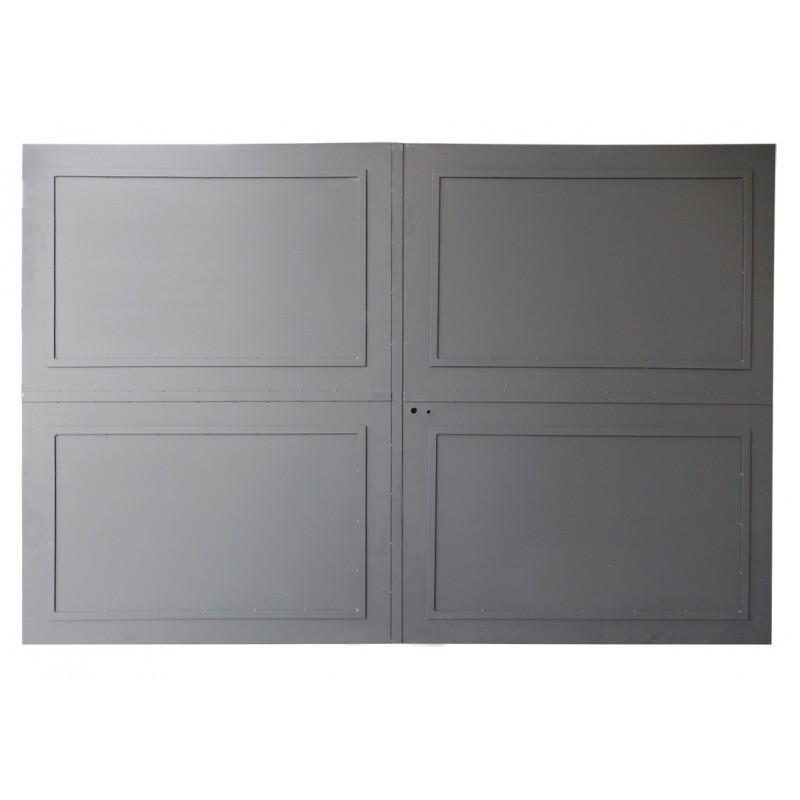 Portail cloture fer prix usine portails fer coulissants for Photo de portail en fer plein