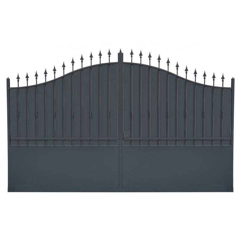 Portail cloture fer, portail fer et portail fer coulissant et portail fer battant 1