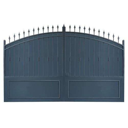 Portail cloture fer, portail fer et portail fer coulissant et portail fer battant 2C