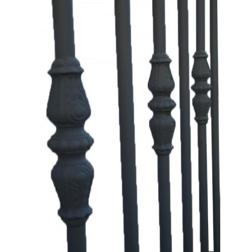 Portail battants en métal de chez Direct Portail, de type Modèle 1, directportails.net