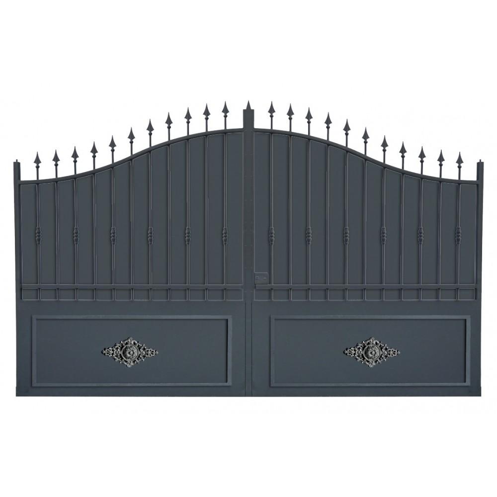 portail en fer coulissant portail en fer battant portail. Black Bedroom Furniture Sets. Home Design Ideas