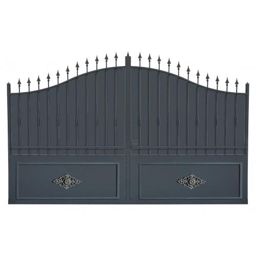Portail cloture fer, portail fer et portail fer coulissant et portail fer battant 1TRC
