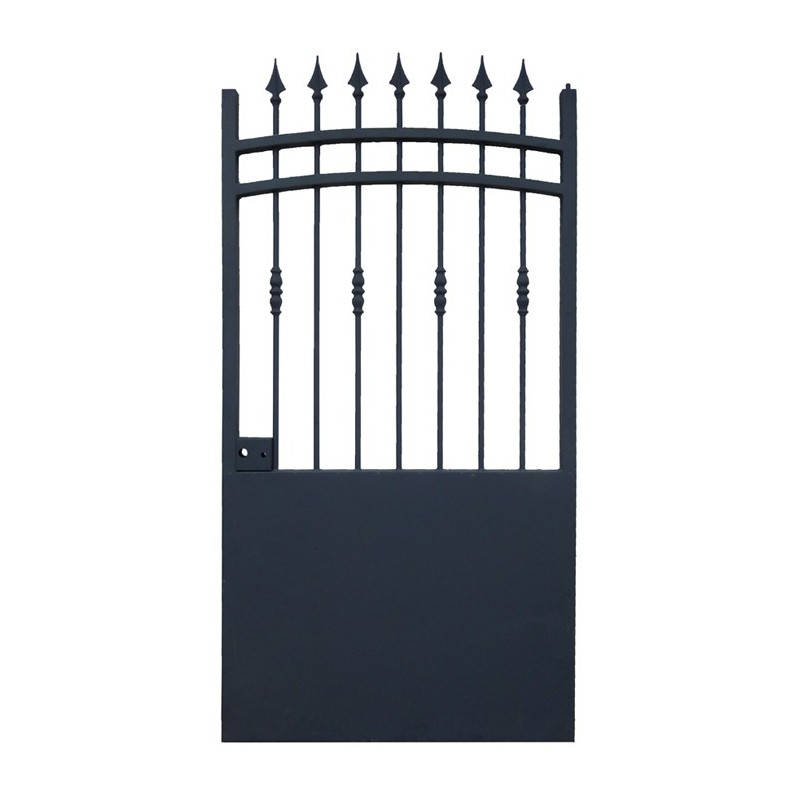 Portillons cloture fer portillon fer pas cher portillons for Portillon en pvc pas cher